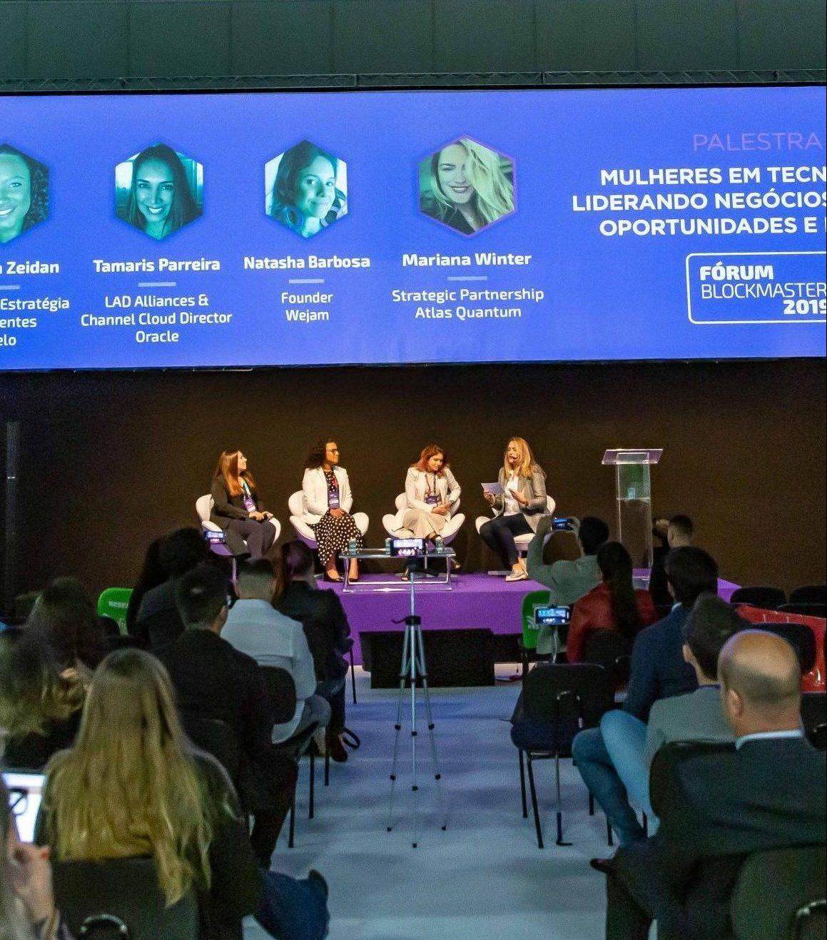 Palestrante - Daniela Zeidan - Tamaris Parreira - Natasha Barbosa - Mariana Winter - BLOCKMASTER 2019 - 28 e 29-08-2019 - IMG3957