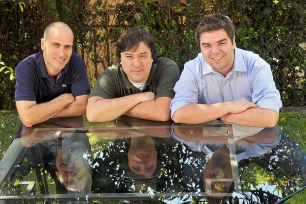 Eduardo Muniz, Mauricio Zimmermann   e Gerson Ribeiro