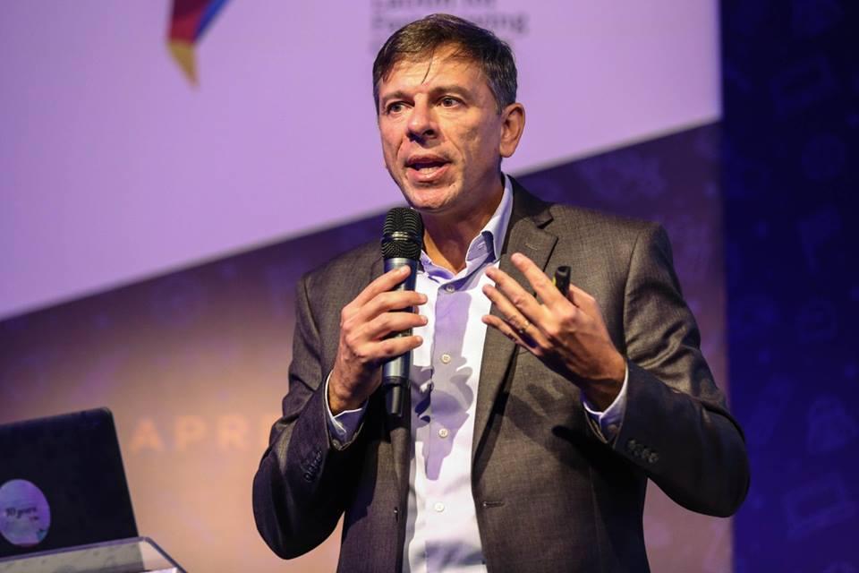Enor Paiano, VP de Partnership Sales da IMS para a América Latina, no IMS Immersion - Edição Gaming.