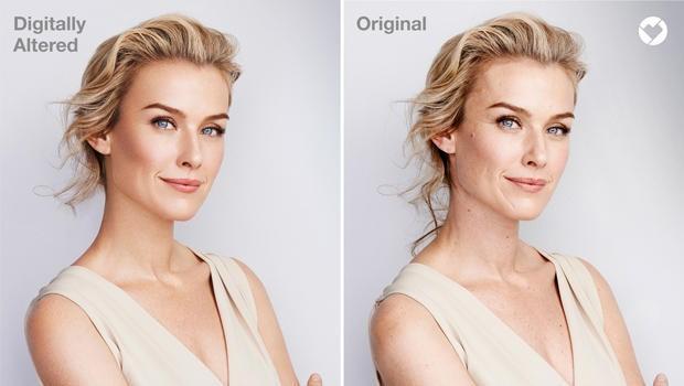 Marca d'agua vai indicar imagens submetidas ao Photoshop nos produtos das lojas da CVS Health