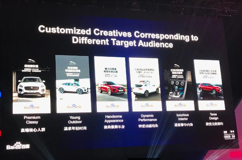 Foto de slide com pequenas fotos de carros cada um com uma customização.