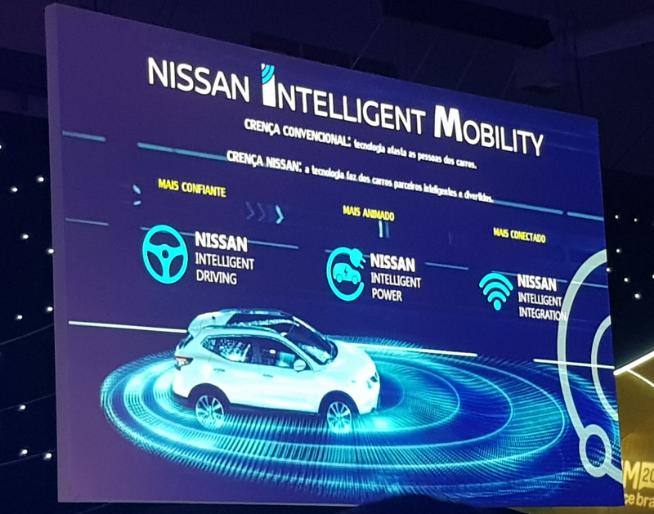 Foto: slide de palestra sobre Indústria automobilística