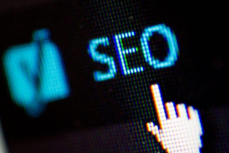 Imagem: tela com o mouse em cima da sigla SEO.