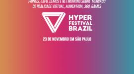Banner: Hyper Festival Brazil.