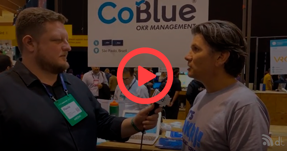 Antônio Zubieta, Sócio co-fundador da CoBlue no Web Summit 2019