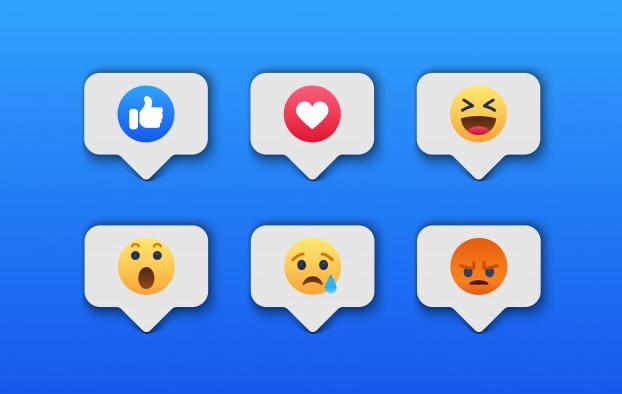 emojis das emoções das redes sociais. Unbound Marketing