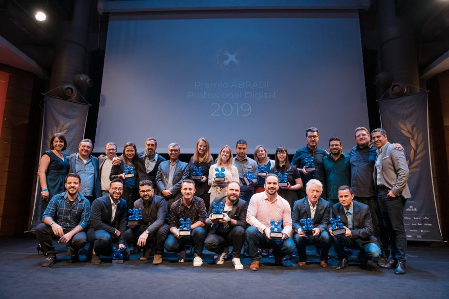 Vencedores do 4º Prêmio ABRADi Profissional Digital.