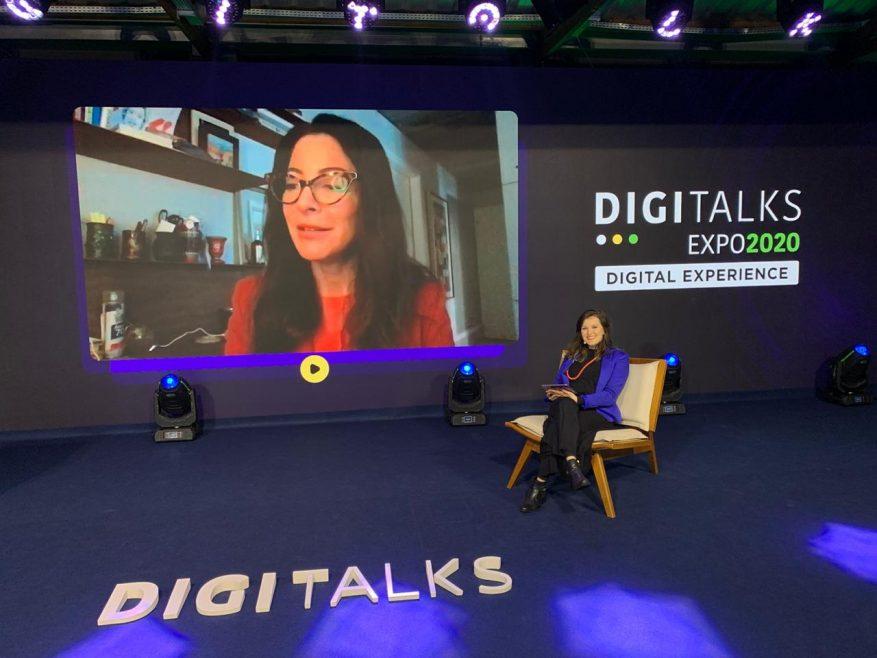 A jornalista Ana Paula Padrão foi Keynote com o tema O digital como fio condutor para inovação, comunicação e empreendedorismo