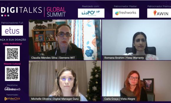 """""""Mulheres digitais"""" abordam o ambiente tecnológico e a participação feminina"""