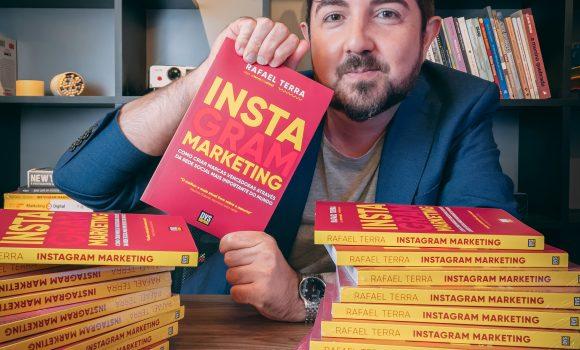 Rafael Terra lança livro sobre Instagram Marketing