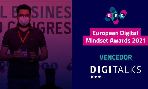 Digitalks é campeão no European Digital Mindset Awards na categoria de jornalismo