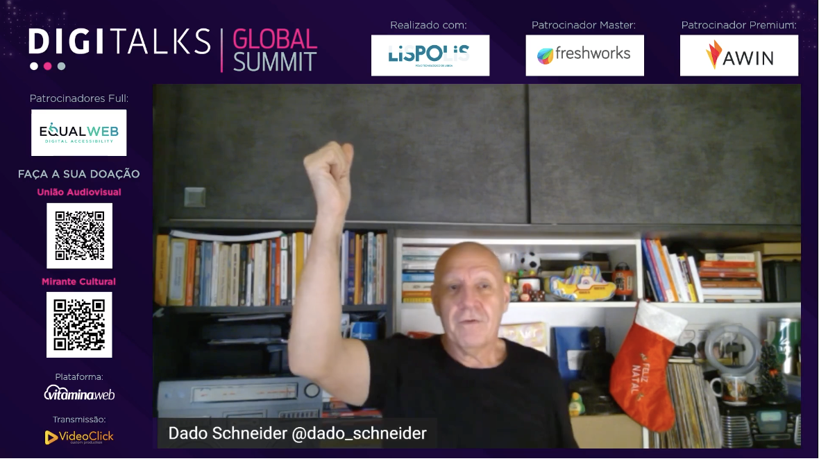Dado Schneider no Digitalks Global Summit