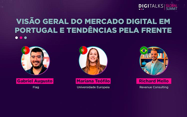 Discussão sobre o mercado digital em Portugal, as perspectivas de crescimento e as mudanças dos últimos anos