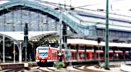 Foto: transporte público.