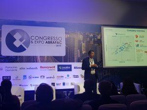 Erik Jaspers, CTO da Planon, palestrou no Congresso & Expo ABRAFAC