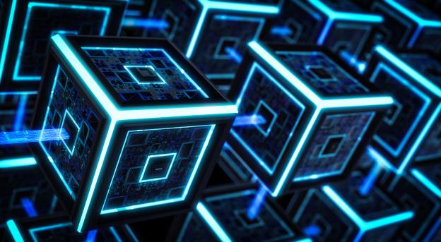 corrente de bloco, tecnologia blockchain.