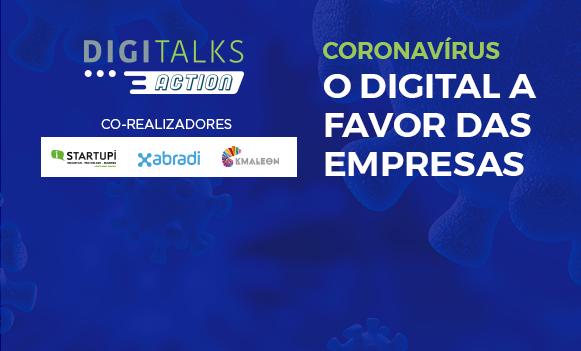 Digitalks Action coronavírus